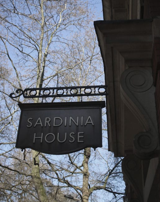 Sardinia House Dental Exterior Sign